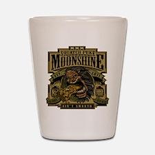Squatch Puke Hillbilly Moonshine Shot Glass