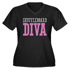 Shuffleboard DIVA Plus Size T-Shirt