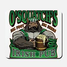 OSquatchs Irish Pub Mousepad