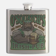 OSquatchs Irish Pub Flask
