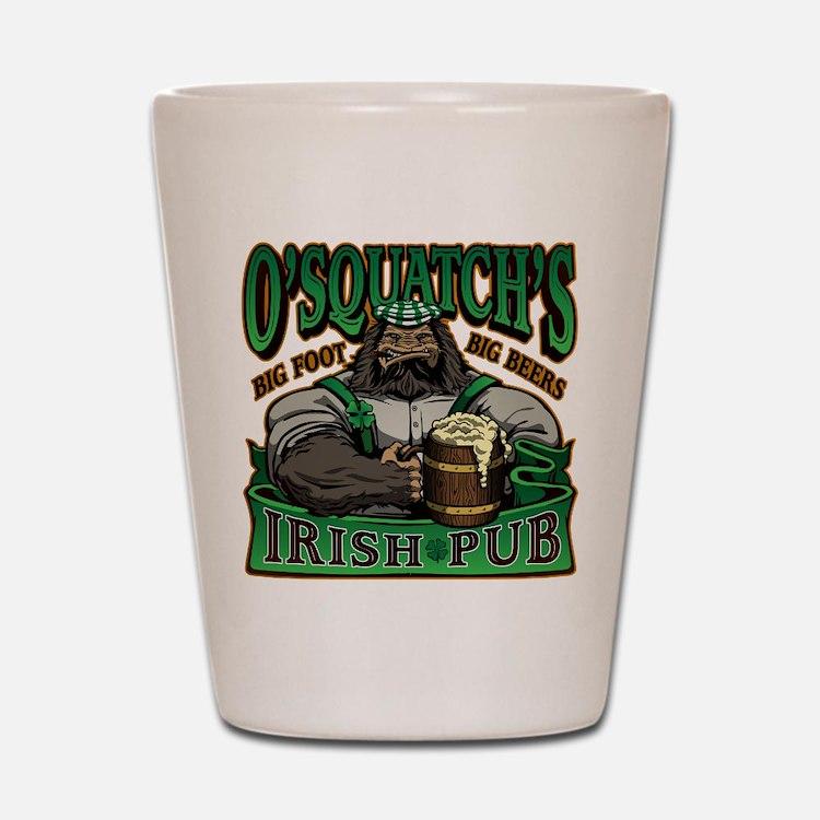 OSquatchs Irish Pub Shot Glass