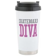 Skateboard DIVA Travel Mug