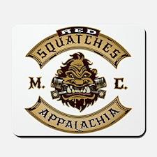 Red Squatches M.C. Appalachia Mousepad