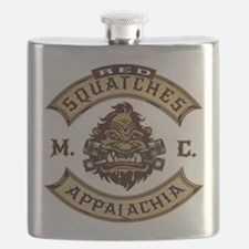 Red Squatches M.C. Appalachia Flask