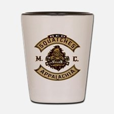 Red Squatches M.C. Appalachia Shot Glass
