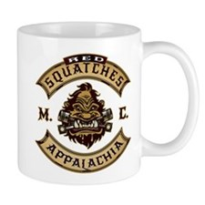 Red Squatches M.C. Appalachia Mugs