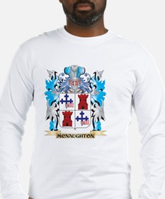 Mcnaughton Coat of Arms - Fami Long Sleeve T-Shirt