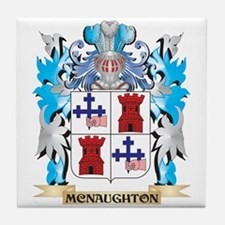 Mcnaughton Coat of Arms - Family Cres Tile Coaster