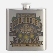 Wood Booger Cigars Flask