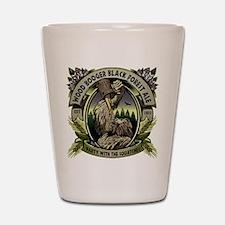 Wood Booger Black Forest Ale Shot Glass