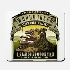 Appalachian Woodbooger Clear Corn Whiskey Mousepad