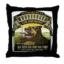Appalachian Woodbooger Clear Corn Whiskey Throw Pi