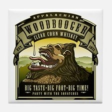 Appalachian Woodbooger Clear Corn Whiskey Tile Coa
