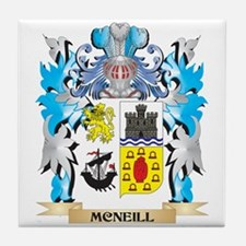 Mcneill Coat of Arms - Family Crest Tile Coaster