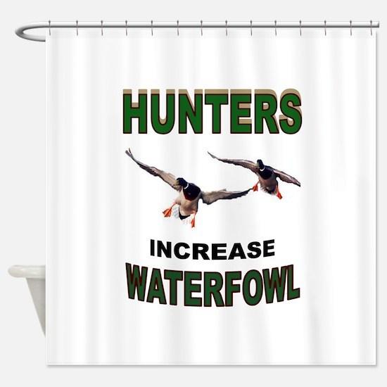 WATERFOWL Shower Curtain