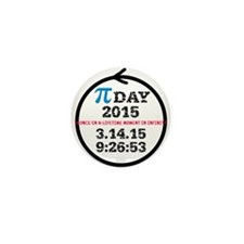 Pi Day 2015 Mini Button (10 pack)