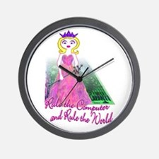 Wall Clock- rule the computer, rule the world