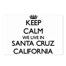 Keep calm we live in Sant Postcards (Package of 8)