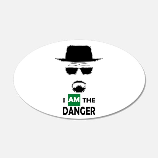 I Am The Danger Wall Decal