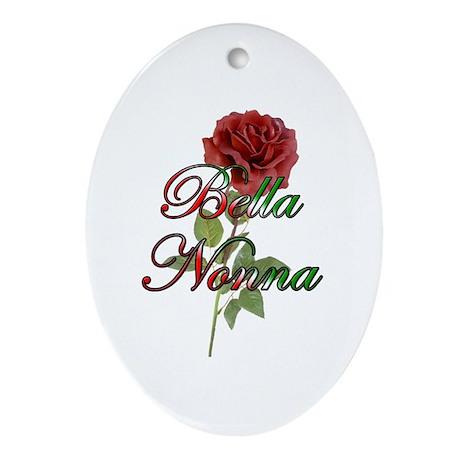Bella Nonna Oval Ornament
