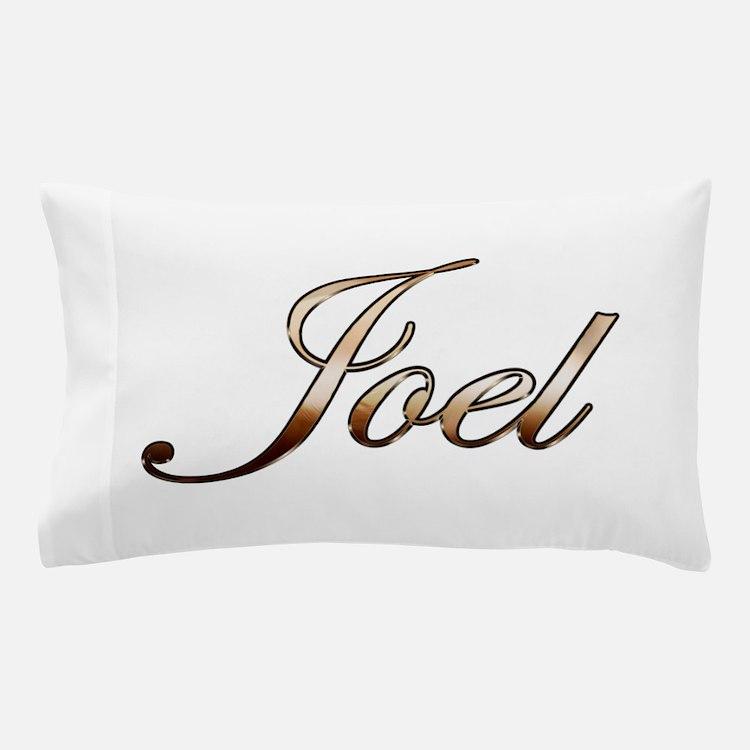 Gold Joel Pillow Case