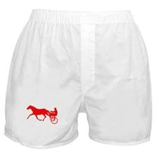 Red Harness Racing Boxer Shorts