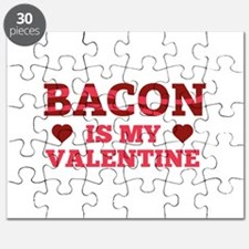 Bacon Is My Valentine Puzzle