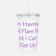 Having a Bad Flare Day Acrylic Double-wall Tumbler