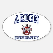 ARDEN University Oval Decal