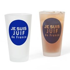 Je suis Juif Drinking Glass