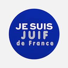 """Je Suis Juif 3.5"""" Button"""