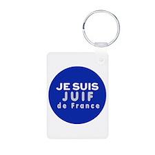 Je Suis Juif Keychains Keychains
