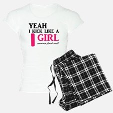 Kick Like A Girl Pajamas