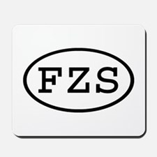 FZS Oval Mousepad