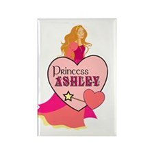 Princess Ashley Rectangle Magnet
