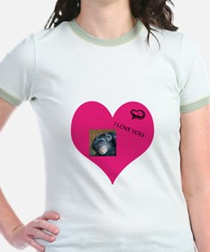 Template for YOUR FOTO - Love T-Shirt