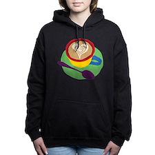 Coffee Heart Women's Hooded Sweatshirt