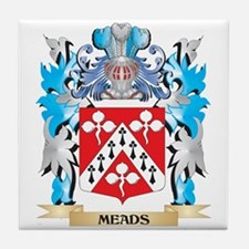Meads Coat of Arms - Family Crest Tile Coaster