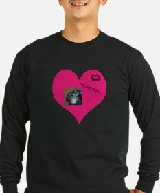 Template for YOUR FOTO - Love Long Sleeve T-Shirt