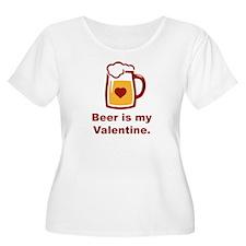 Beer Is My Valentine T-Shirt
