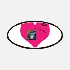 Template for YOUR FOTO - Love Patches
