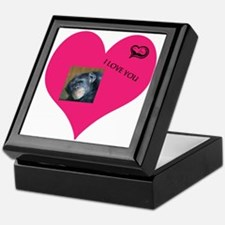 Template for YOUR FOTO - Love Keepsake Box