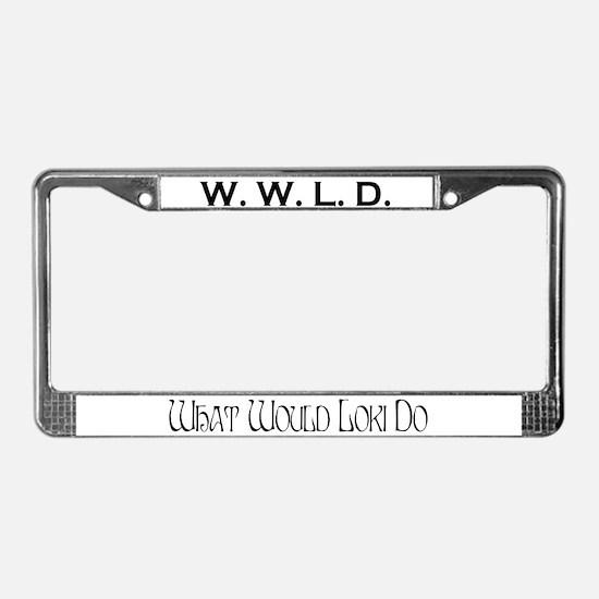 Loki License Plate Frame