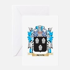 Meath Coat of Arms - Family Crest Greeting Cards