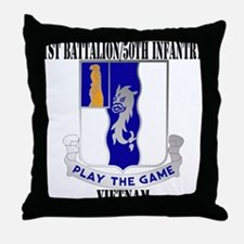 1ST BATTALION 50TH INFANTRY Throw Pillow
