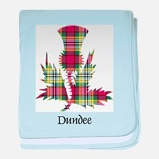 Thistle - Dundee dist. baby blanket