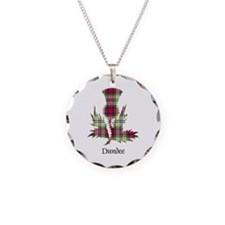 Thistle - Dundee dist. Necklace Circle Charm
