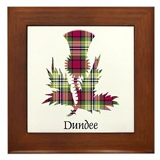 Thistle - Dundee dist. Framed Tile