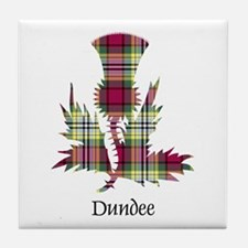 Thistle - Dundee dist. Tile Coaster