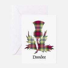 Thistle - Dundee dist. Greeting Card